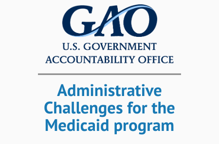 Medicaid High Risk List GAO Syrtis Solutions Program Integrity Oversight Improper Payments Cost Avoidance